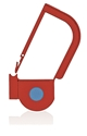 Picture of Red, EasyTwist Padlock Security Locking Tags with INDICATOR DOT - 200/pack
