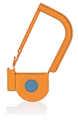 Picture of Orange, EasyTwist Padlock Security Locking Tags with INDICATOR DOT - 200/pack