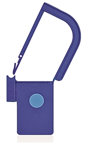 Picture of Blue, EasyTwist Padlock Security Locking Tags with INDICATOR DOT - 500/pack