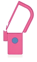Picture of Pink, EasyTwist Padlock Security Locking Tags with INDICATOR DOT - 200/pack
