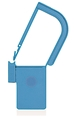 Picture of Light Blue, EasyTwist Padlock Security Locking Tags with INDICATOR DOT - 100/pack