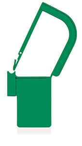 Picture of Green, EasyTwist Padlock Security Locking Tags - 200/pack