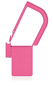 Picture of Pink, EasyTwist Padlock Security Locking Tags - 100/pack