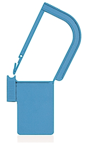 Picture of Light Blue, EasyTwist Padlock Security Locking Tags - 500/pack