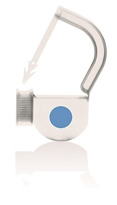 Picture of Padlock Security Locking Tags - EasyTwist, Original Size with INDICATOR DOT