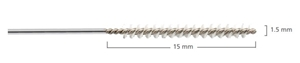Picture of ARC Reusable Micro Stainless Steel Channel Cleaning Brush, 1.5mm x 45cm, 6/Pack