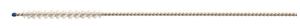 Picture of 1mm x brush dia x 12.7mm brush length x 250mm, Nylon Bristles, 3/Pack
