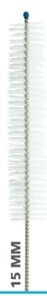 Picture of 15mm brush dia x 76mm brush length x 406mm, Antimicrobial Nylon Twisted Wire Brushes, 3/Pack