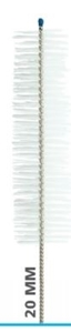 Picture of 20mm brush dia x 76mm brush length x 406mm, Antimicrobial Nylon Twisted Wire Brushes, 3/Pack