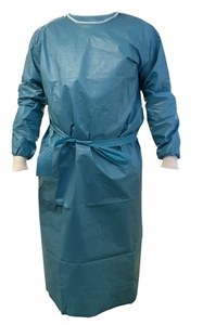Picture of Small Chemotherapy Laminated Stitched Gown, 50/Pack