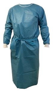 Picture of XXX-Large Chemotherapy Laminated Ultrasonically Welded Gown, 40/Pack