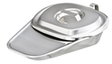 Picture of Stainless Steel Fracture Bedpan (Short Cover), 1/Pack