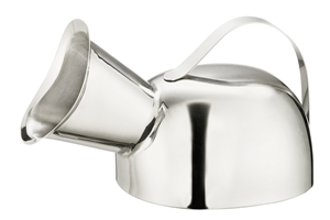 Picture of Stainless Steel Female Urinal, 1/Pack