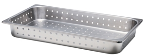 Picture of Stainless Steel Perforated Food Service Container, 1 Pack