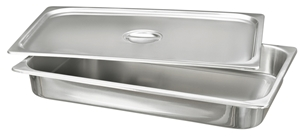 Picture of Stainless Steel Cover for Food Service Container 1/2 Size, 1/Pack