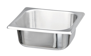 Picture of Stainless Steel Food Service Container 1/4 Size, 1/Pack
