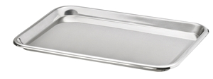 Picture of Stainless Steel Rectangular Instrument Tray, 1/Pack