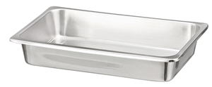 Picture of Stainless Steel Deep Rectangular Tray, 1/Pack