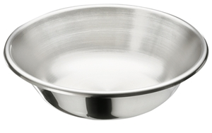 Picture of Stainless Steel Solution Bowl, 4Qt, 128oz, 1/Pack