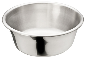 Picture of Stainless Steel Solution Bowl, 5 1/8Qt, 164oz, 1/Pack