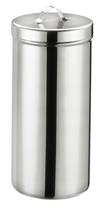 Picture of Stainless Steel Dressing Jar with Cover (raised handle), 1/Pack
