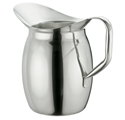 Picture of Stainless Steel Bell Shaped Pitcher, 0.9L, 1/Pack